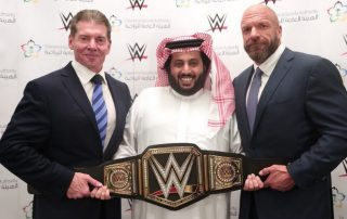 General Sport Authority KSA and WWE
