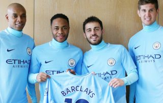 Manchester City and Barclays: New partners.