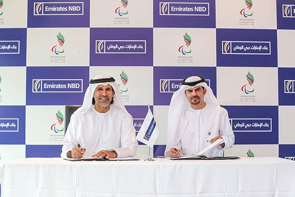 Emirates NBD paralympics