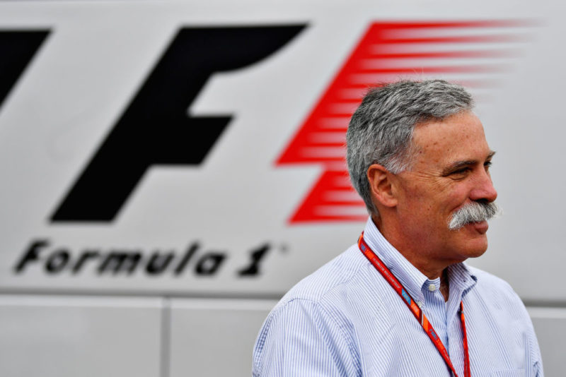 Formula One Chase Carey