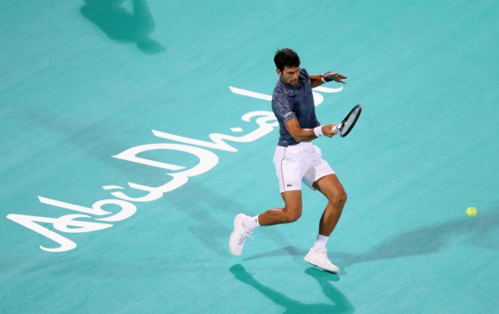 Novak Djokovic Mubadala World Tennis Championship