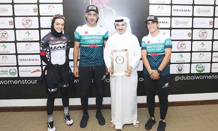 Dubai Women's Tour cycling