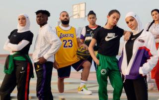 Nike Dubai basketball