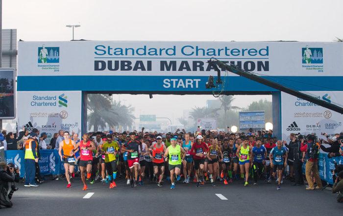 Dubai MArathon Standard Chartered