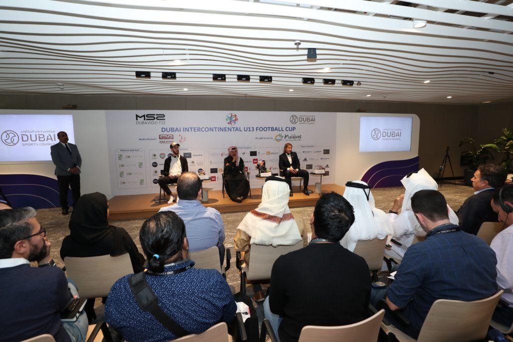 Under 13 Dubai Intercontinental Cup launch