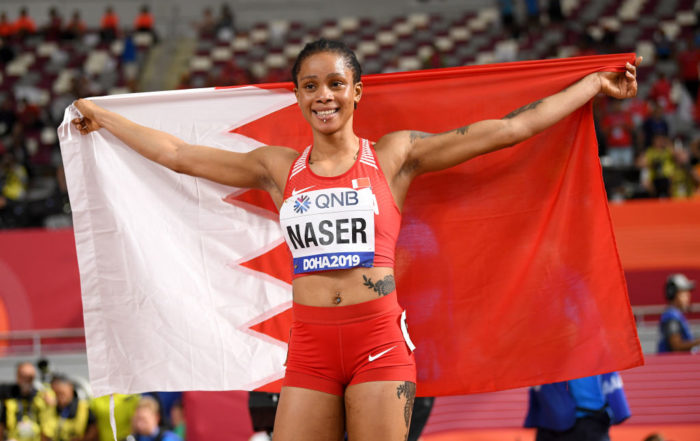 Bahrain Athletics Gold Salwa Eid Naser