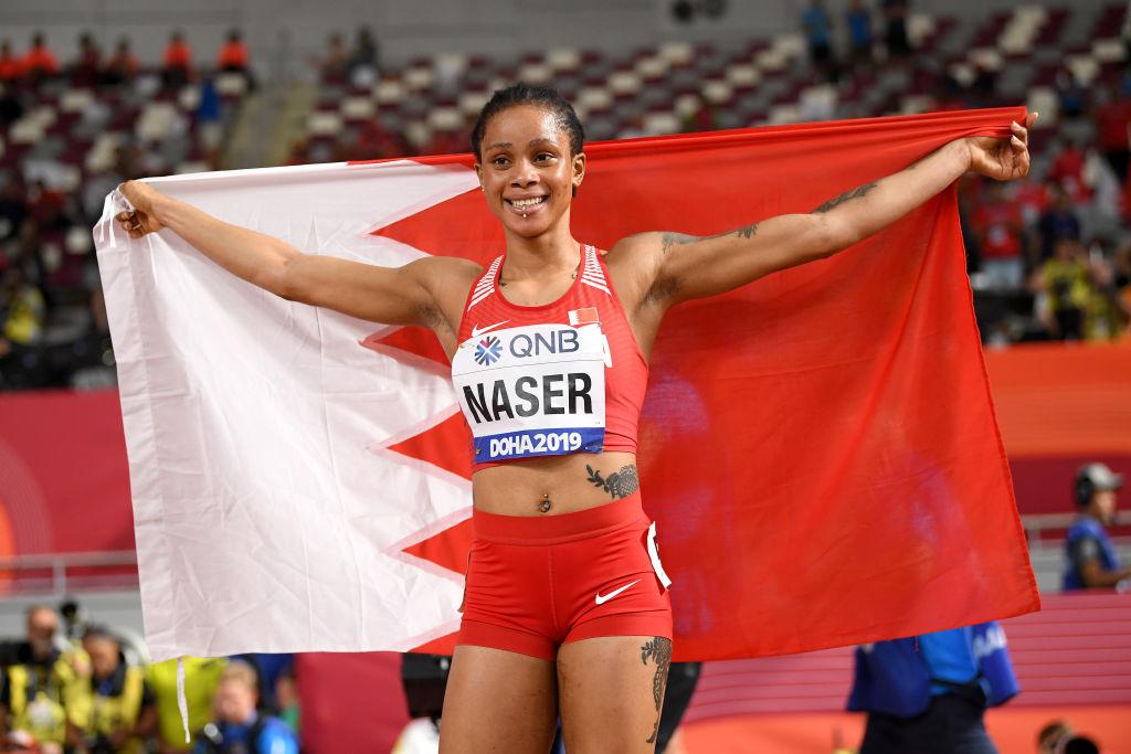 Bahrain Athletics Gold Salwa Eid Naser