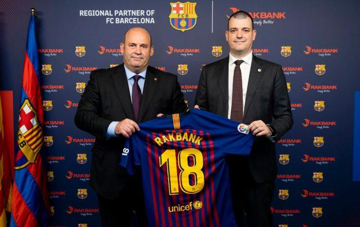 RAKBANK Barcelona partnership