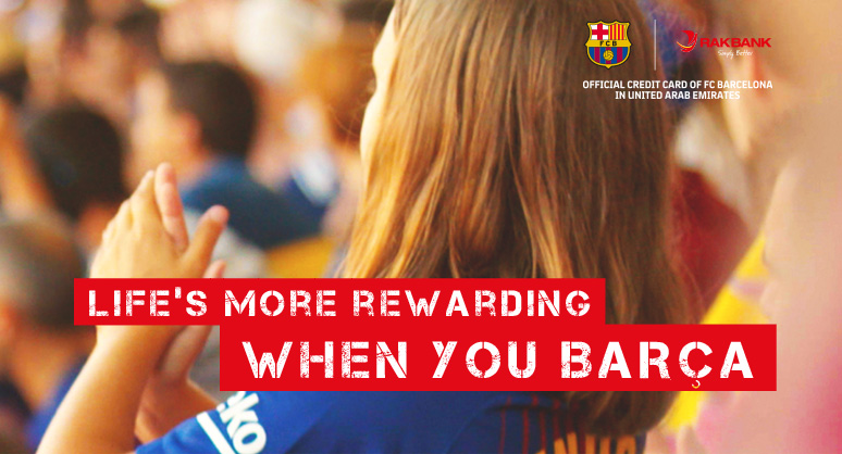 RAKBANK Barcelona credit card